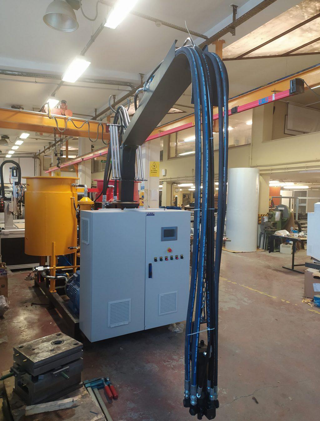 Yüksek basınç poliüretan makinesi
